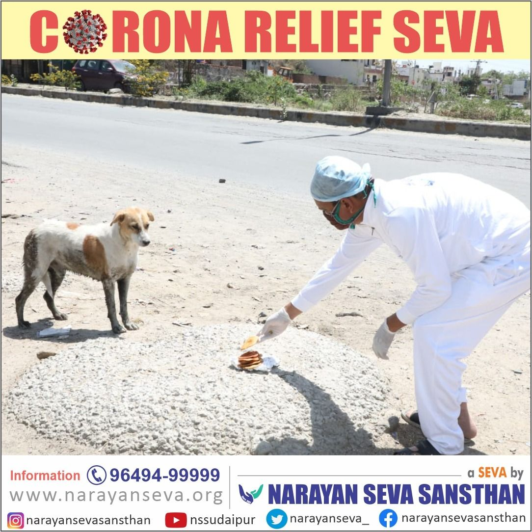 Pin On Corona Relief Seva By Narayan Seva Sansthan