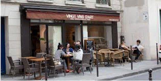 VINGT VINS D\u0027ART Paris 4eme   Super small and off the beaten path - Chambre De Commerce Franco Italienne
