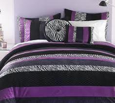 Purple And Black Zebra Print Bedroom Ideas   Google Search