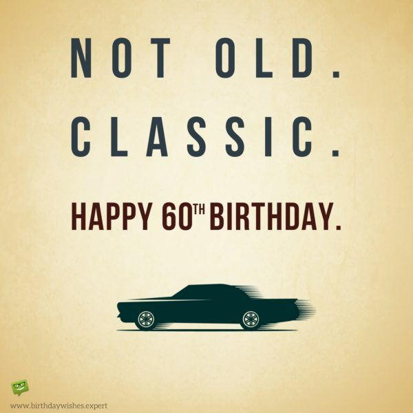 Sixty 60 Not Old Classic Decal 60th Bday Party Theme Gift for Adult Men Women 60th Birthday Sticker Gift for 60 Year Old Sixtieth Birthday