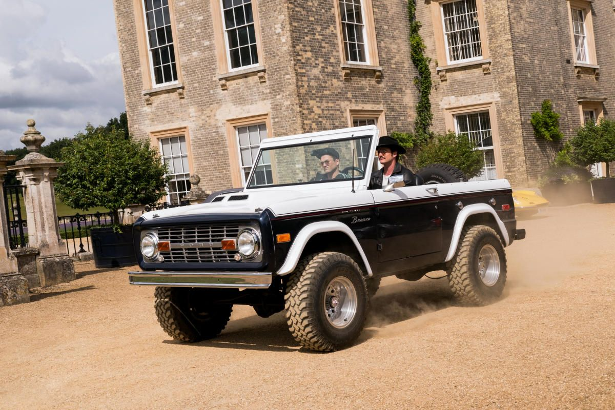 A Closer Look At The Vintage Ford Bronco In Kingsman The Golden Circle Kingsman Ford Bronco Ford