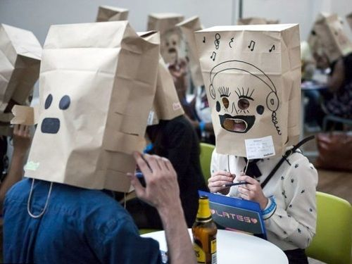 Speed Dating With A Bag On Your Head