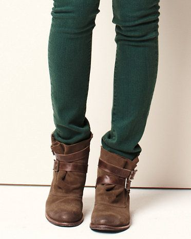 052515fea299 Mommy Style. Hunter Rain Boots. garnet hill Matisse Hunter Short Buckled  Boots Tomboy Chic