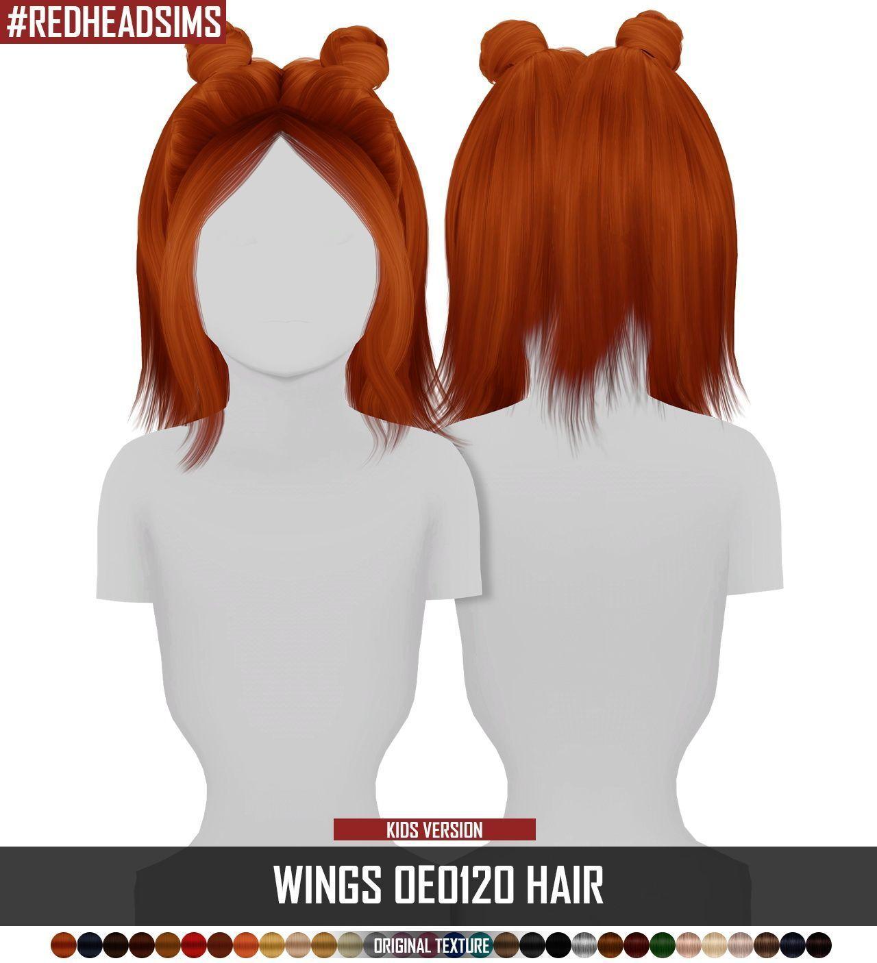 Sims 4 Hairs ~ Coupure Electrique: Wings OE0120 Haare retexturiert - Kids Version #kidhair Coupure Electriques Wings OE0120 Haare retexturiert - Kids Versi ... - #coupure #electrique #haare #hairs #oe0120 #retexturiert #wings - #new