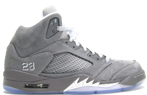 competitive price 55f5a 6ee39 136027-005 Air Jordan Retro 5 V Wolf Grey Light Graphite ...