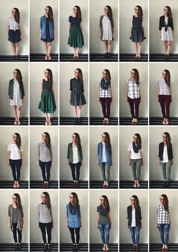 How To Build A Seasonal Capsule Wardrobe In Less Than A