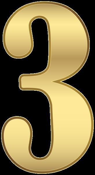 Три Числа Золото Прозрачное Изображение | Clip art, Gold ...