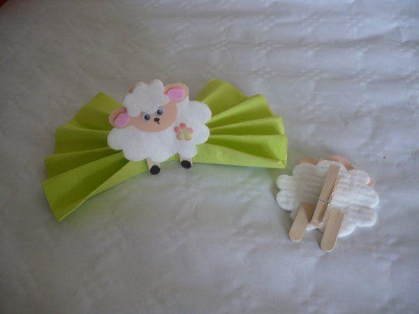Un mouton tout doux en coton