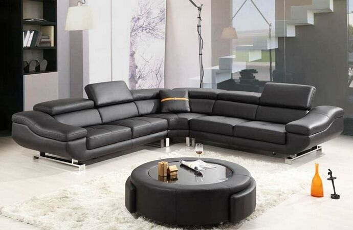 Sectional Sofa With Recliner Layout