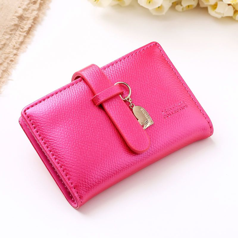 20 Card Slots Hasp Credit Card Holder PU Leather Multi Business Card ...