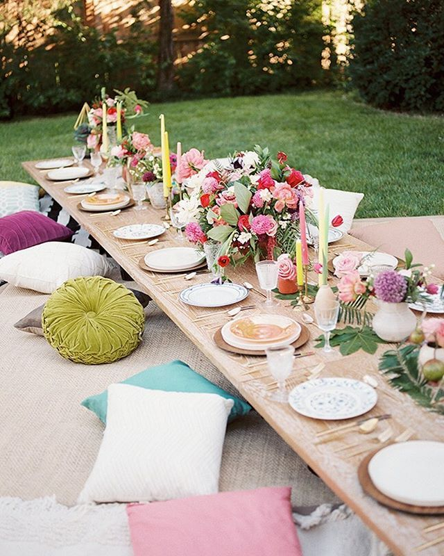 Boho Party? We Got You Covered! Rent Our Rattan Chargers