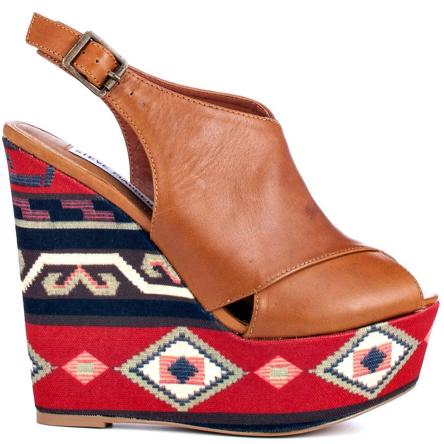 Steve Madden's Brown Bammba - Cognac Multi for 189.99 direct from heels.com