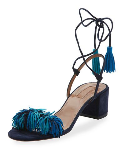 Wild Thing Suede 50mm City Sandal