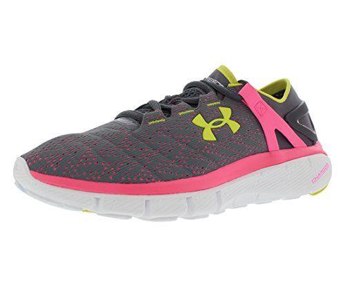 Under Armour Women's UA Speedform Fortis Graphite/Pink Punk/Flashlight  Sneaker 10 B - Medium
