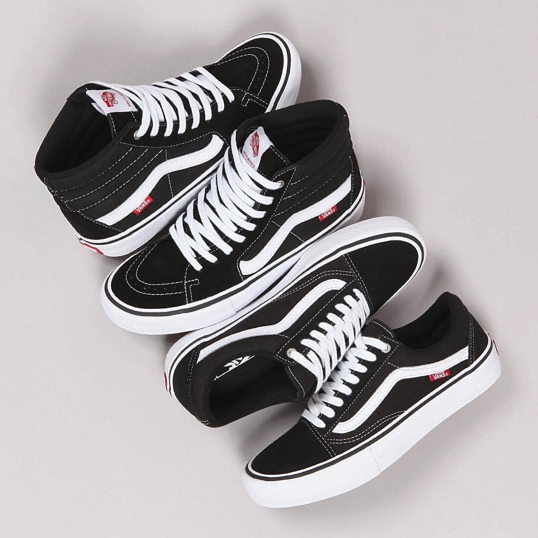 696584f899 Vans Sk8-Hi   Old Skool Pro Skate I got my  Vans on I dress well ...