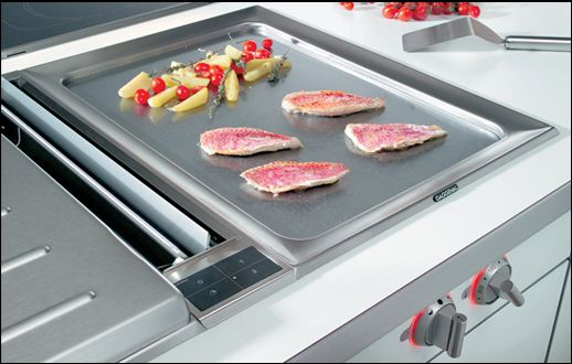 indoor kitchen grill natural gas flat top grill for home with large hard chromed surface smooth and like those