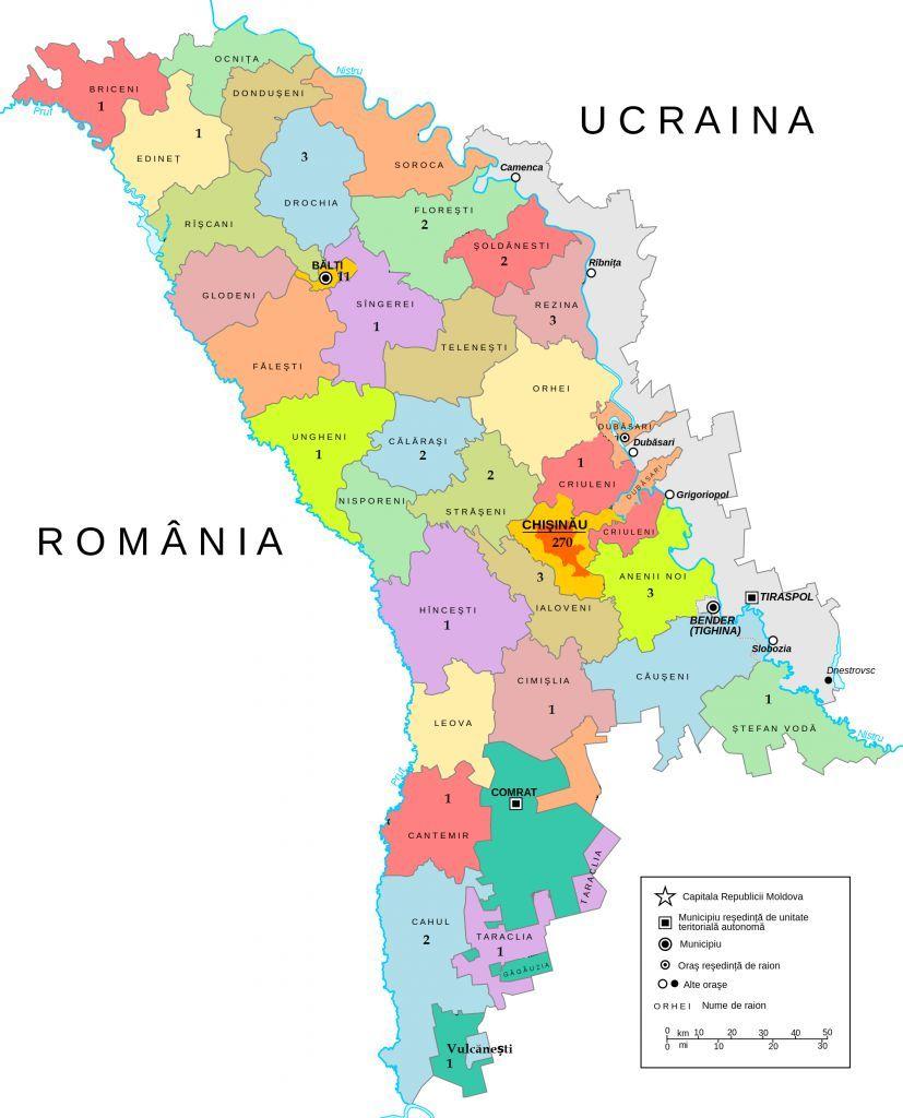 Harta Milionarilor Din Moldova Vezi In Ce Raioane Trăiesc Cei Mai