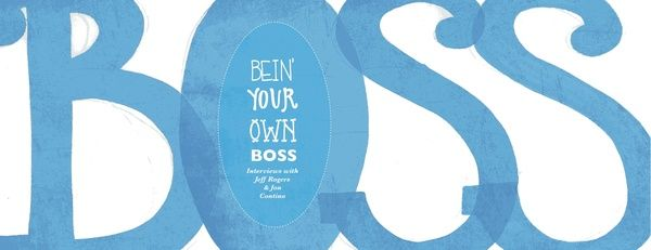 Interview Booklet by Caitlin Goodman, via Behance