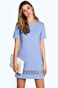 75713baa4 Compra Vestido informal de mujer color azul oscuro de Boohoo al mejor precio.  Compara precios de vestidos de tiendas online como Boohoo - Wossel España
