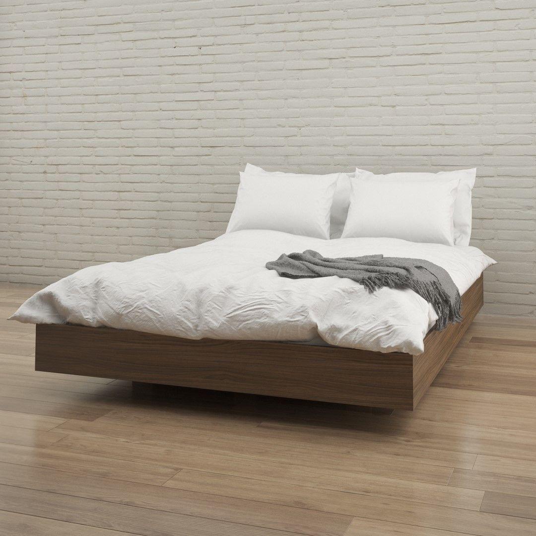 Aristocles Platform Bed Queen size platform bed, Full