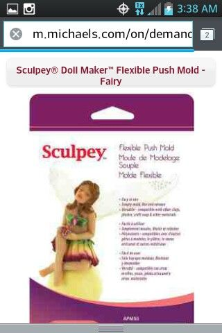 Michael's | I Want That! | Fairy dolls, Clay dolls, Sculpey clay