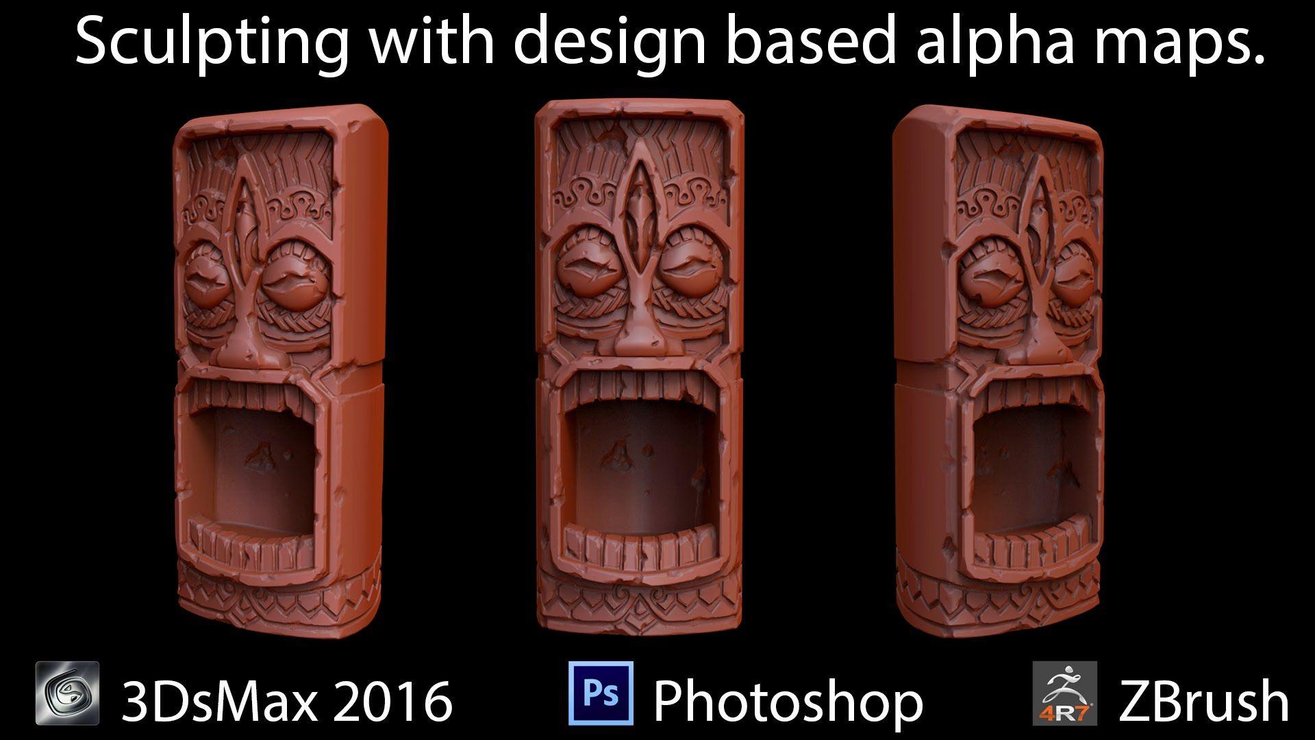 Seth Thompson - Tiki Sculpt YouTube - Creating precise
