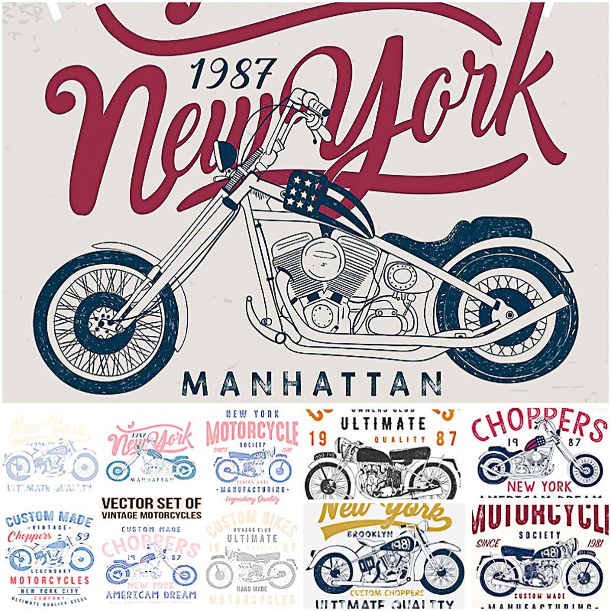 10 Vintage Motorcycle T Shirt Prints Free T Shirt Design Vintage Motorcycle Vintage