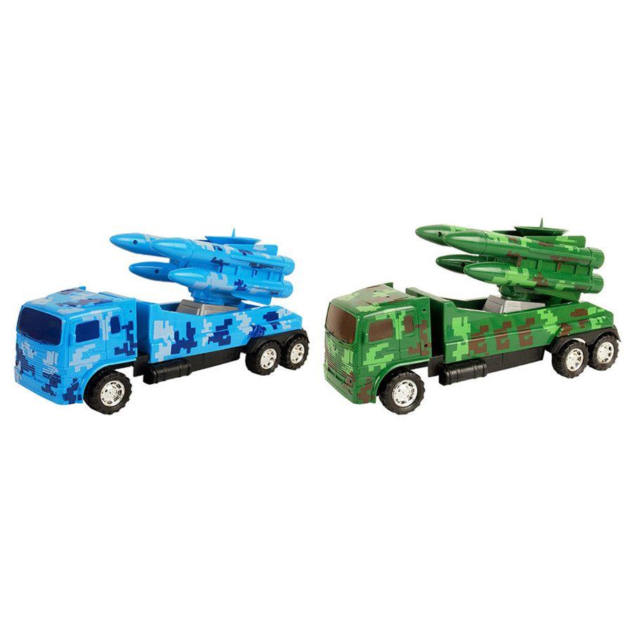 Kids Car Toy Vehicles Children Birthday Gift Toy DIY Military