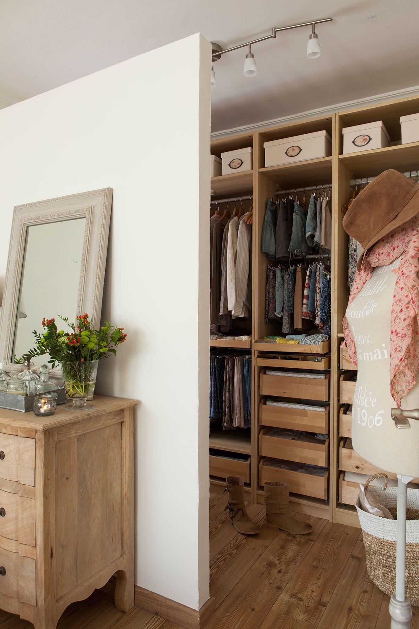 Hacer Un Vestidor En Una Habitacion Me Estoy Planteando  ~ Como Hacer Un Vestidor En Una Habitacion