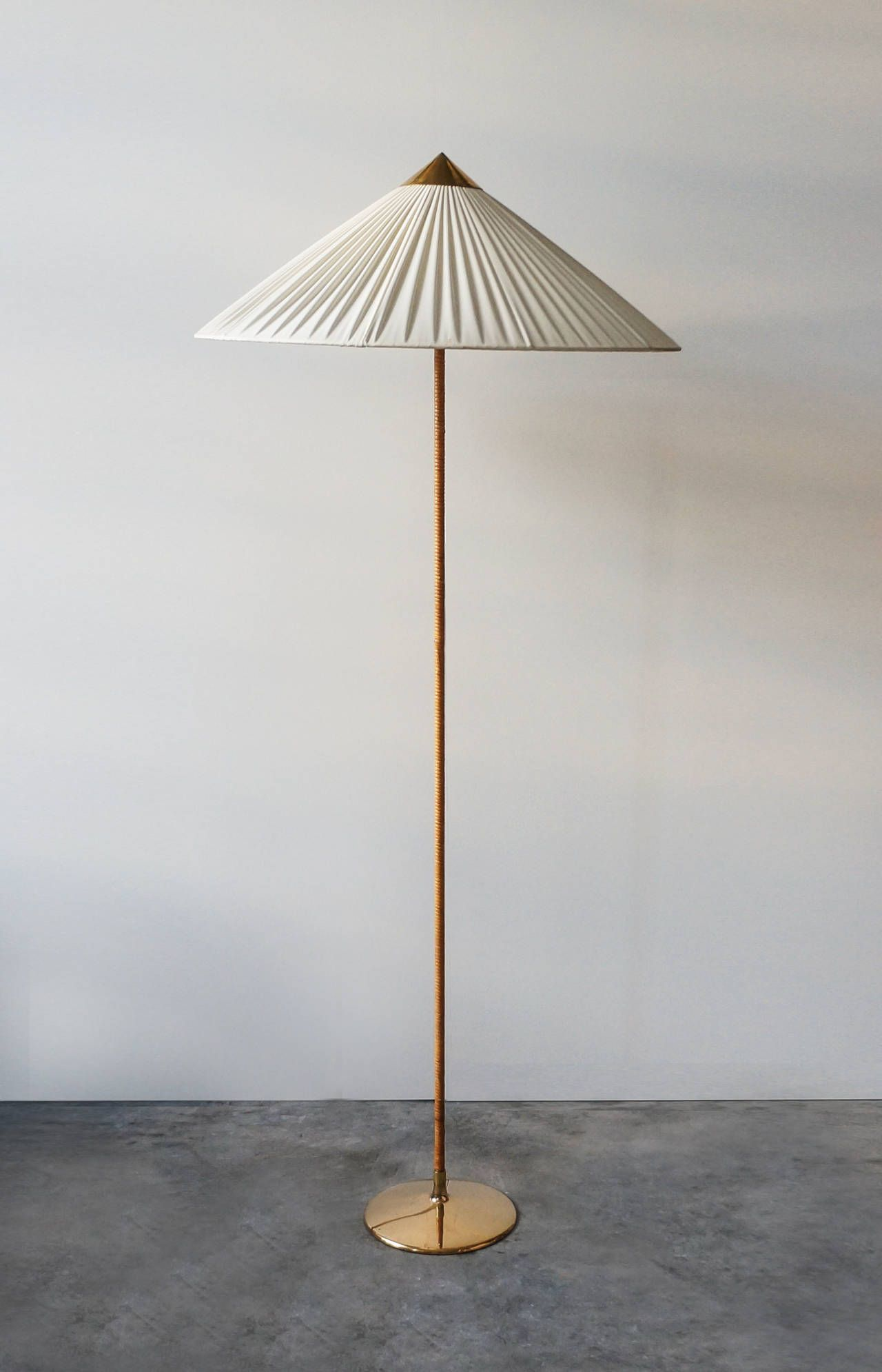 Paavo Tynell Floor Lamp Model 9602 1940s Vintage Floor Lamp Modern Floor Lamps Floor Lamp