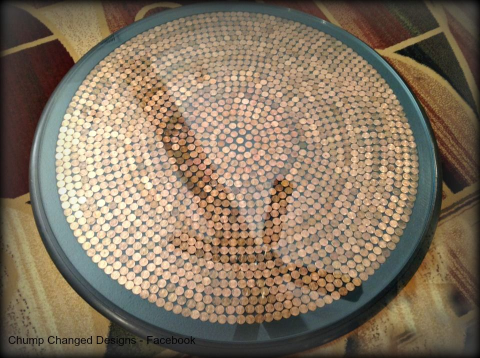 17 Penny Projects Sand And Sisal Penny Table Diy Projects Diy