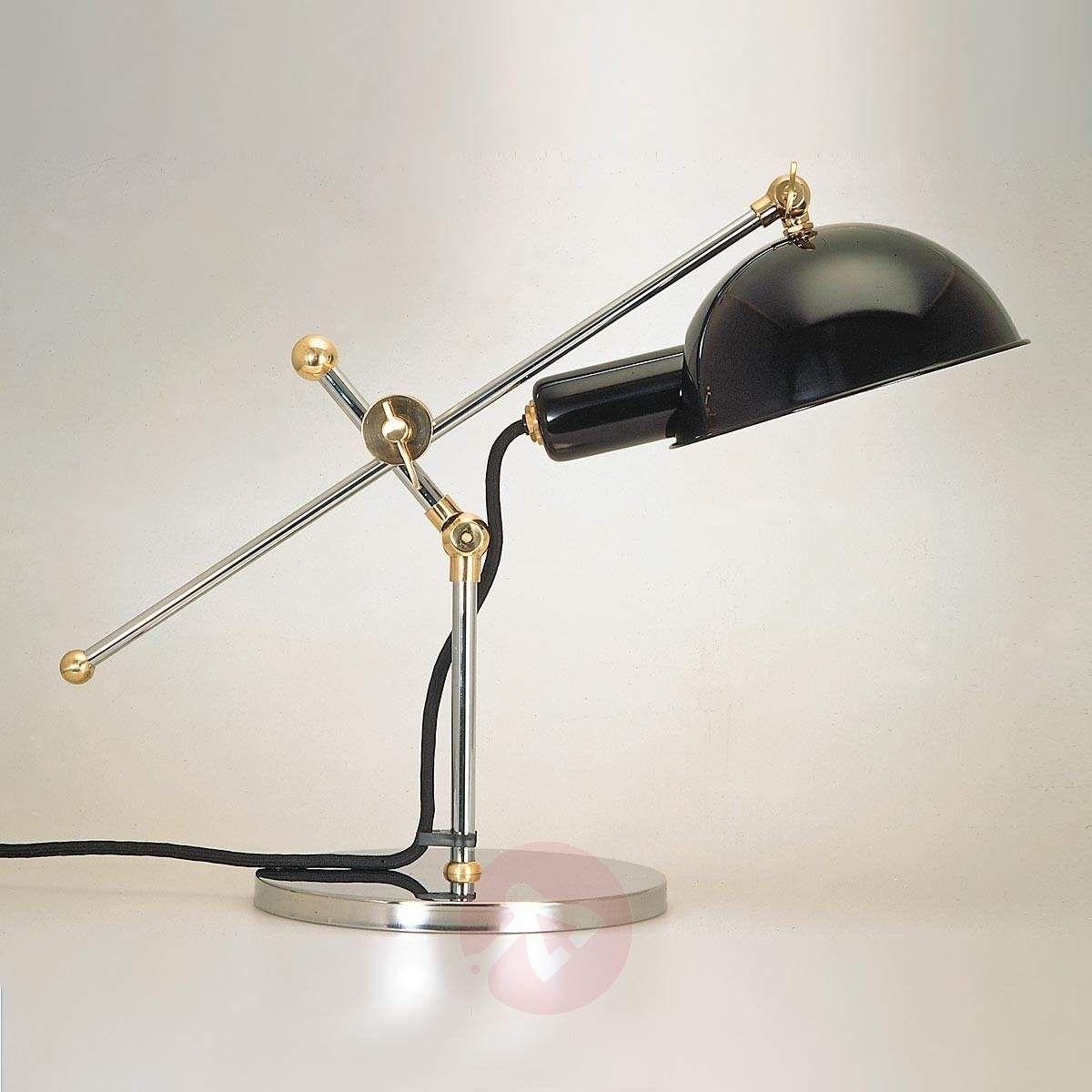 Fancy Historische Reproduktion einer Schreibtischlampe aus dem Jahr Zertifiziertes Qualit tsprodukt von TECNOLUMEN