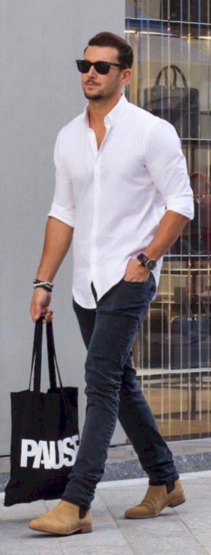 740640cb8962 32 Trendy Men Spring Outfit with Casual Style | Street Style ...