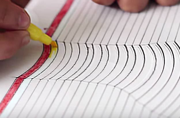3d Hand Drawing DIY Project Idea Is Cool Art For Teens Tweens And Adults To Make