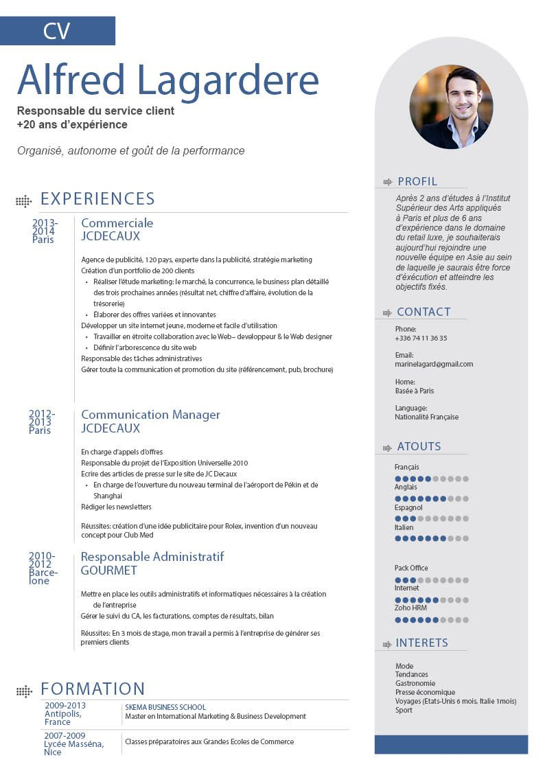 Cv Moderne Astucieux Resume Template Professional Resume Makeover Downloadable Resume Template