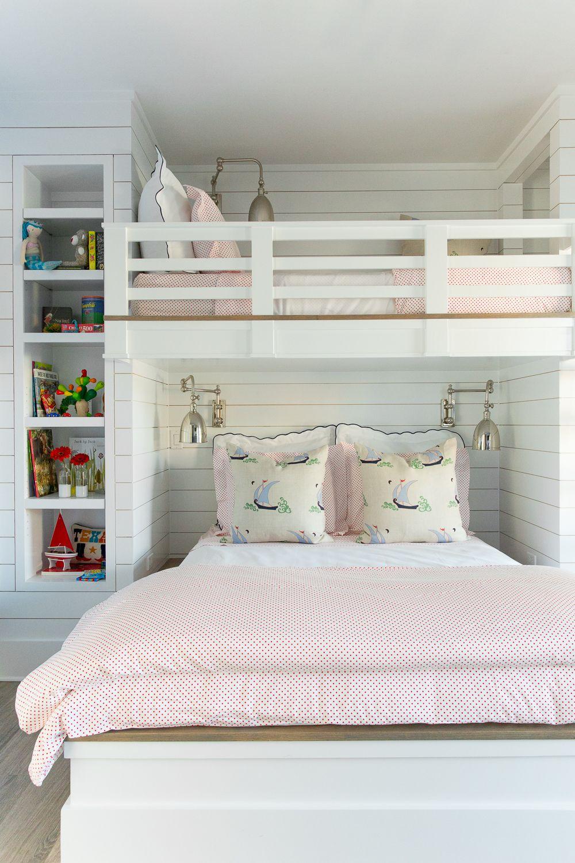 Bailey's Coastal Living Showhouse Cool loft beds, Girl