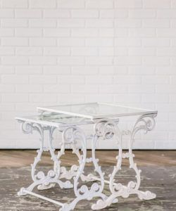 Wrought Iron Side Table, Maggpie Rentals, Philadelphia Wedding, Styled  Shoots, Styled Weddings