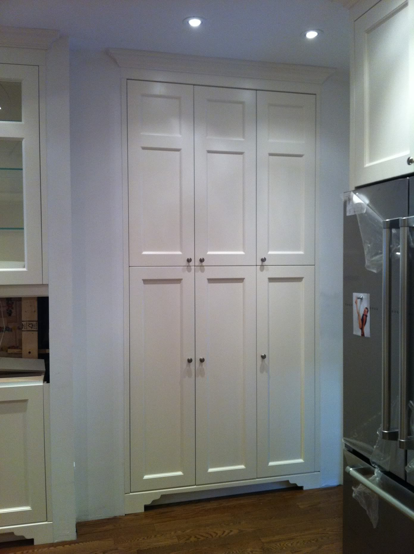Pin By Linda Dietl On Love Storage Built In Pantry Pantry Cabinet Tall Kitchen Cabinets