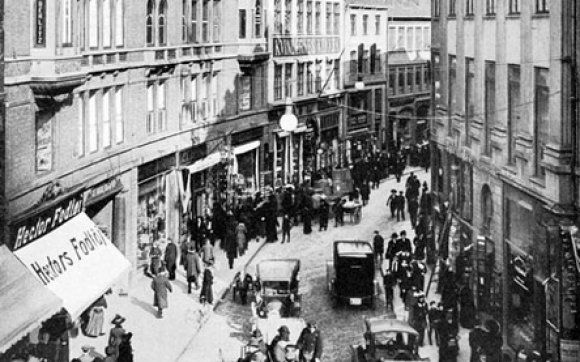 Pin By Hegan Heinze On Barndommens Gade Vintage Photos Photo Street View