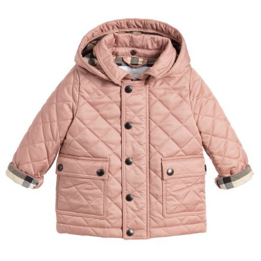 99b1cb5df9b6 Burberry - Pink Quilted Jamie Jacket