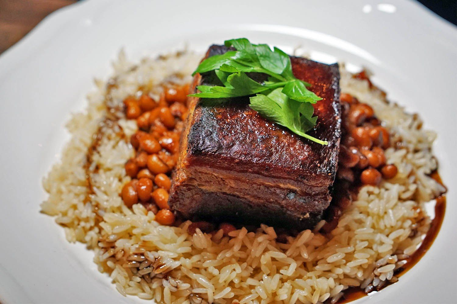 Pork and Beans at Butterfunk Kitchen in Windsor Terrace Brooklyn #soulfood