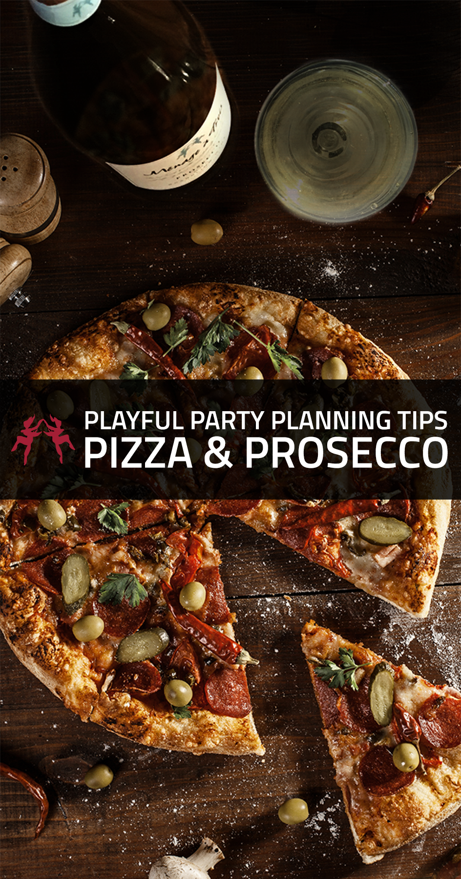 Fly Canape Bolero How To Host A Pizza Prosecco Party Entertaining With Wine