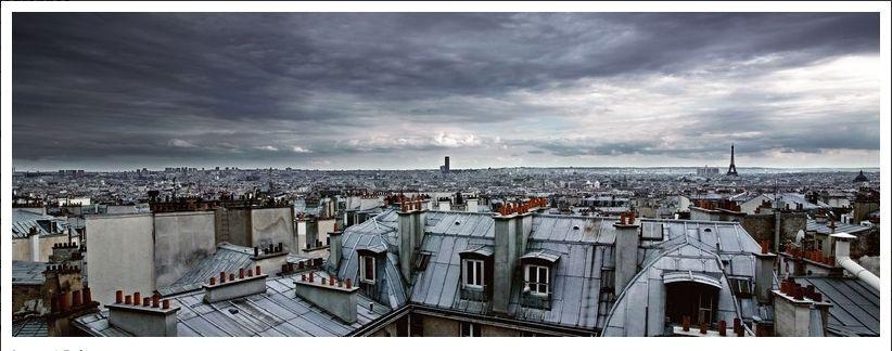 les toits de Paris by Laurent Reiz