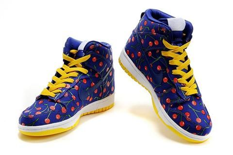 low priced 9d696 1bd6e Womens Cherry Nike High Dunks