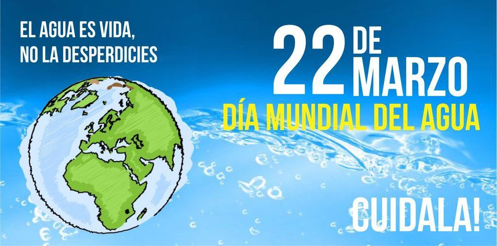 22 de Marzo: ¡Feliz día Mundial del Agua!