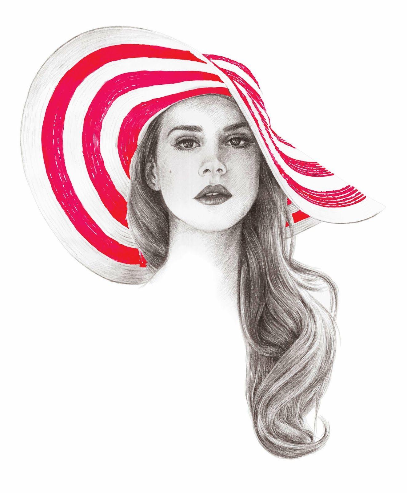 COOLRISTA: Lana Del Rey Art Print | Inspiration ...