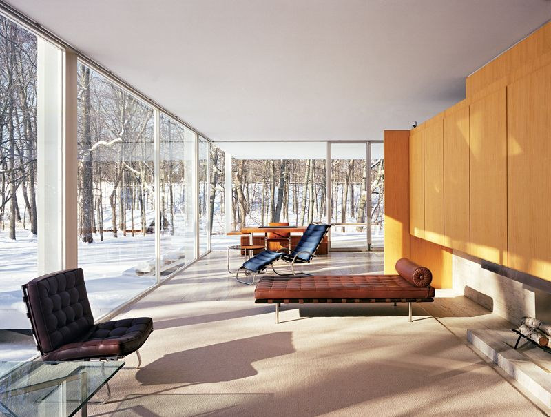 Exceptional Best Midcentury Homes In America By Aaron Britt. Farnsworth HouseSchmidtClean  ...