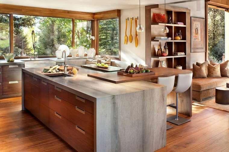 Arredare la casa in campagna in stile chic moderno - Cucina di ...