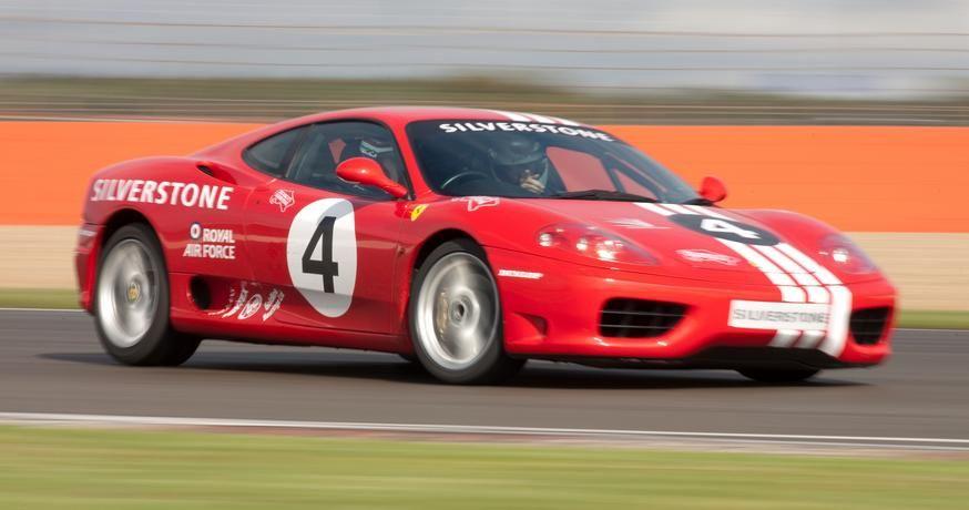 Ferrari Silverstone Driving Experience Days Ferrari Silverstone Track Days At Silverstone Circuit Bookexperiencedays Com Driving Experience Ferrari Driving