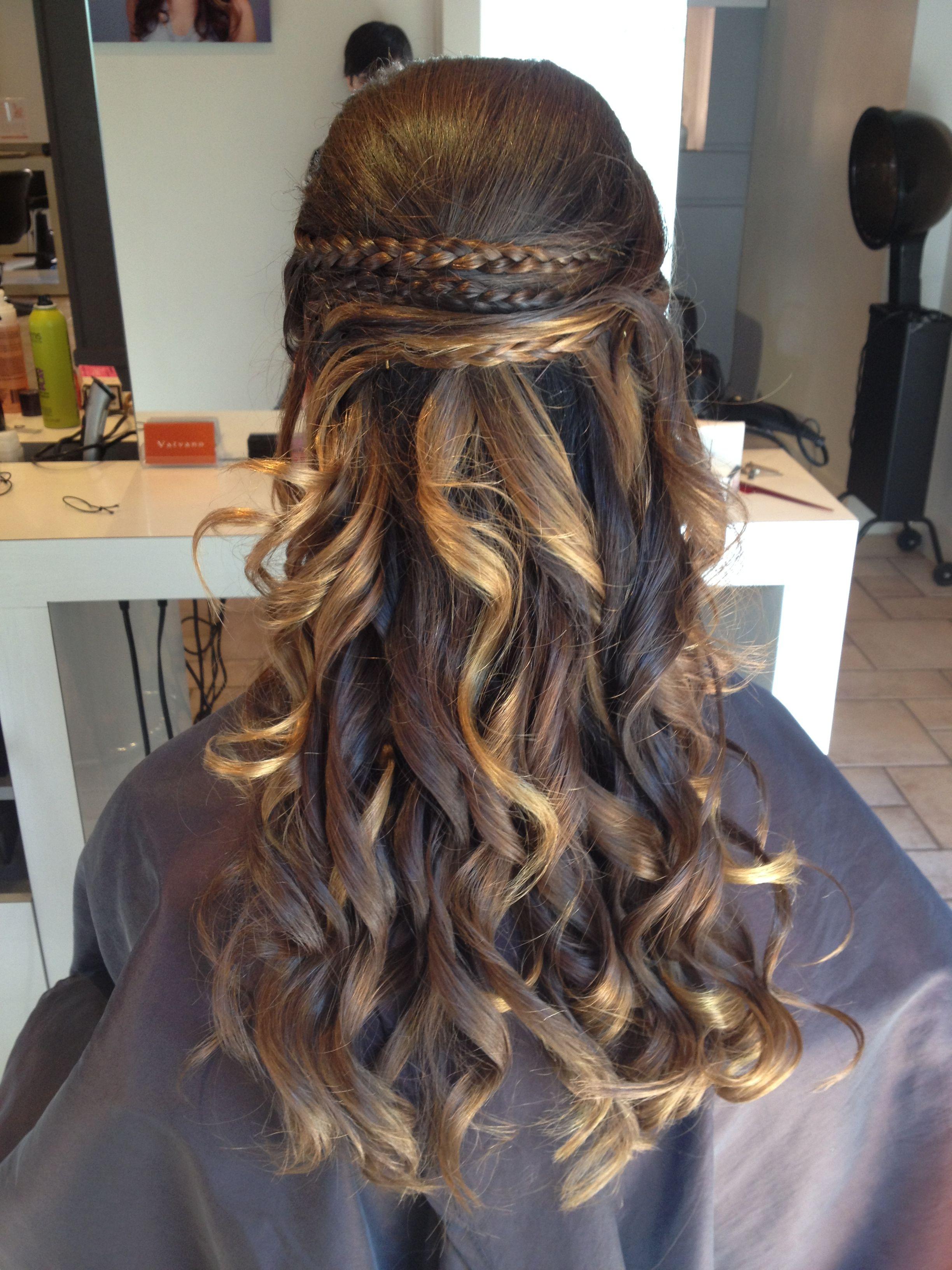 Grad 8 graduation hair